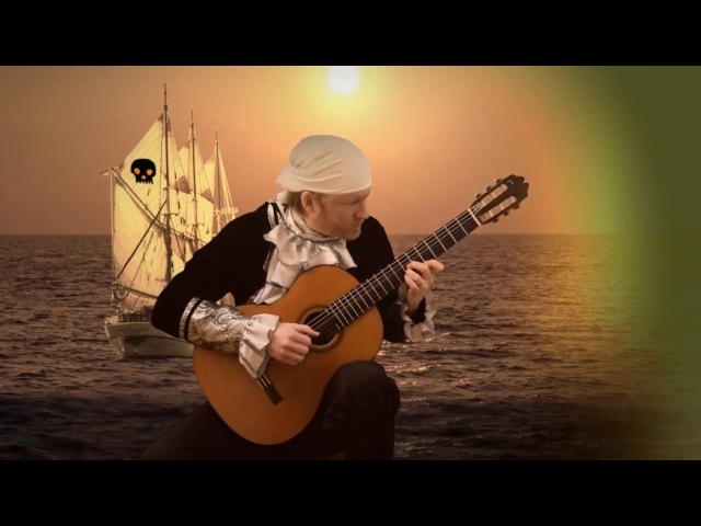 Pirates of the Caribbean - He's a Pirate (Acoustic Fingerstyle Guitar Cover with Tabs)
