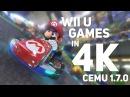 Wii U Games Running in 4K 60FPS! Cemu 1.7.0 - Graphic Packs!