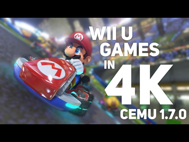 Wii U Games Running in 4K 60FPS! Cemu 1.7.0 - Graphic Packs!