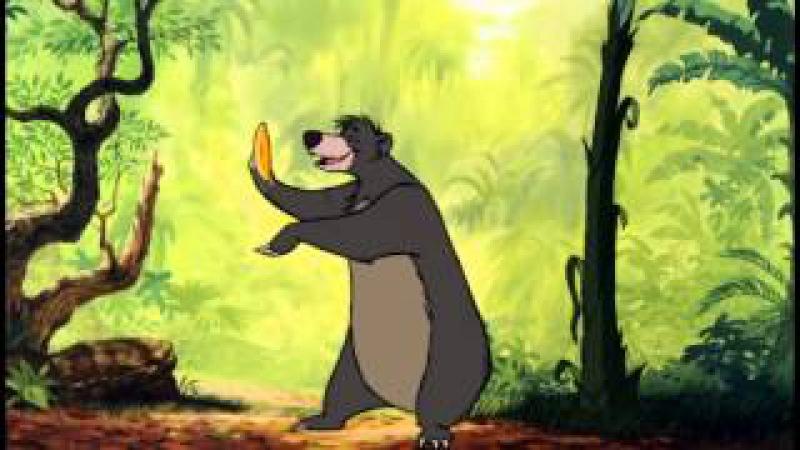 Das Dschungelbuch - Probier's mal mit Gemütlichkeit - Balu und Mogli