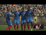 PES 2017 Gameplay - France vs Germany