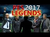 PES 2017 New Lengends, Tactics and Player Stats