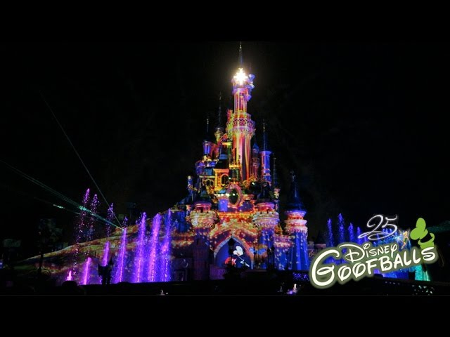 Disney Illuminations - Disneyland Paris 25th Anniversary
