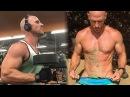 Актер Bruzzers демонстрирует СВОЙ Тренинг - Джонни Синс Лысый из Бразерс - фитнес мотивация
