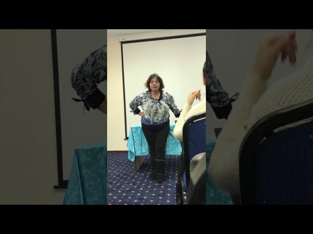Семинар Галины Калиловой в Астане первая часть