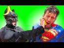 Супермен и Бэтмен против Замороженной Эльзы! 👽 Человек паук