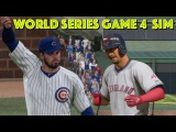 CUBS vs INDIANS | 2016 World Series Game 4 Simulation (Condensed Highlights) | MLB The Show 16