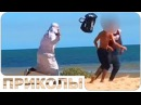 Араб с бомбой продолжает шутить Страшные приколы над людьми ВЫПУСК 18