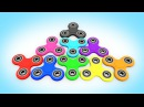 Мультики для Детей - Цветные Спиннеры УЧИМ ЦВЕТА Обучающие Видео для Малышей Волшебство ТВ