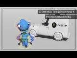 Alien Rig Presentation - Free Biped Creature for Maya.