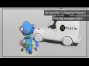 Alien Rig Presentation - Free Biped Creature for Maya.
