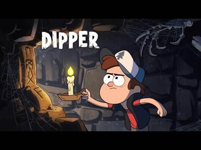 Опенинг Гравити Фолз/ Oppening Gravity Falls HD| Disney