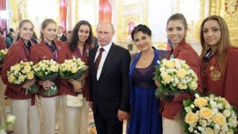 Путину любовниц-спортсменок поставляет Виннер