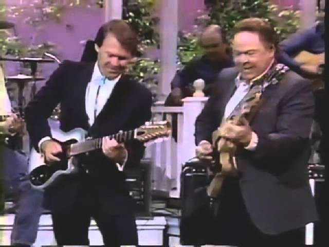Glen Campbell Roy Clark Play Ghost Riders in the Sky
