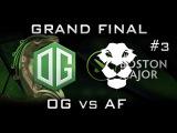 OG vs Ad Finem EPIC Grand Final Boston Major 2016 Highlights Game 3 Dota 2