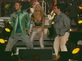 Aerosmith, Nsync, Britney Spears, Mary J. Blige  Nelly - Walk this way (live in the Superbowl)