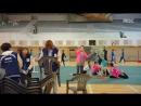 Корейские тяжелоатлетки VS художественные гимнастки