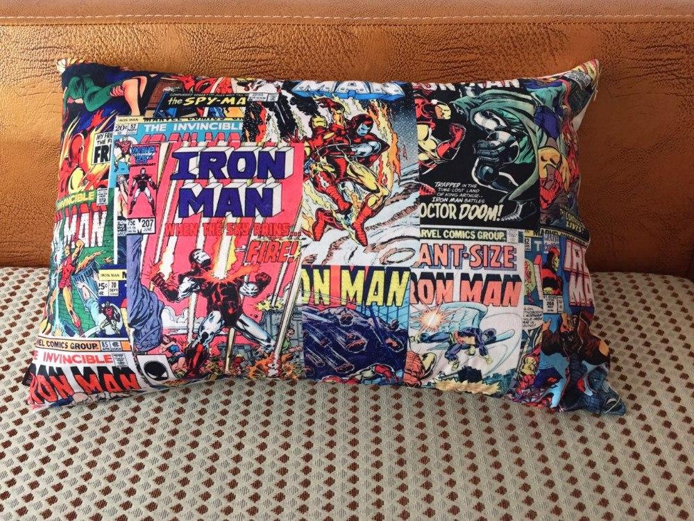 Комиксовая наволочка для подушки