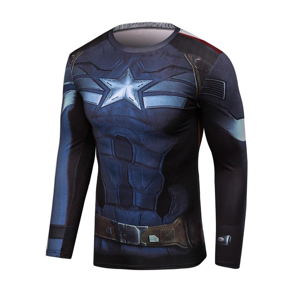 Спортивная футболка Captain America
