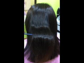 Кератиновое выпрямление волос FOX Gloss Анжела