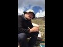 Ринат на перевале Титова с вареньем
