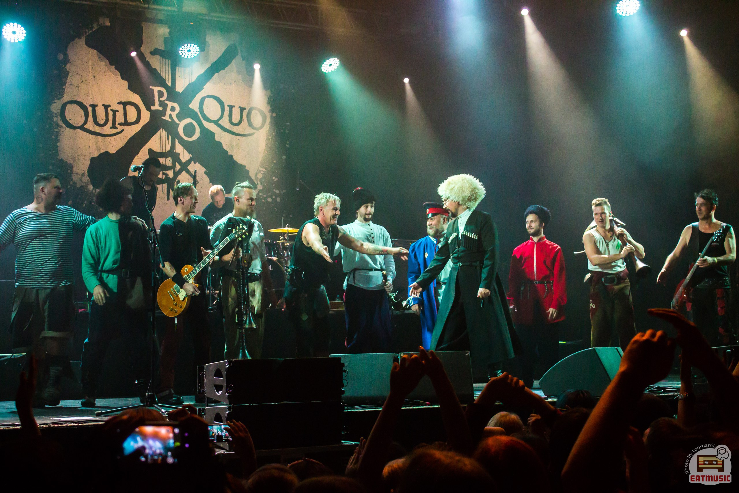Концерт In Extremo в Москве