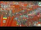 Парад 1 мая 1983 на Красной Площади