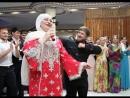 Кадыров Рамзан и Макка Межиева танцуют лезгинку