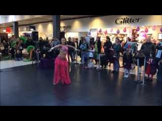 Michaela BellyDance - Drum Solo Didem Style (Tarazade) Competition Promo