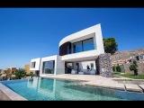 Luxury villa with sea views in Benidorm