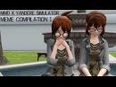 [MMD x Yandere Simulator] Meme Compilation 1