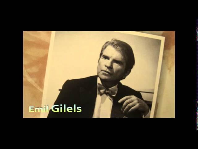 GILELS, Beethoven Piano Sonata No.8 c-moll op.13