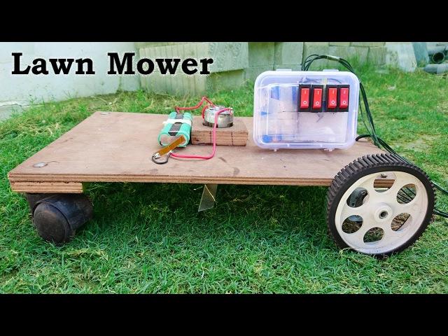 Design and Implementation of Autonomous Lawn Mower