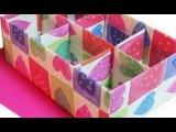 Делаем настольный органайзер для канцелярии коробочки из бумаги простые Поделки своими руками