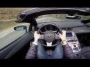 POV Drive Lamborghini Aventador Roadster LP700 4