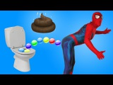 SPIDERMAN vs DOCTOR vs MASHA AND THE BEAR w/ SPIDERMAN and POISON CANDY