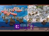 Aoe2: Khmer Sneaky Landing & Vikings Longboats (RotK Finals Game 5)