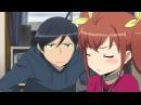 смешной момент из аниме Ну не может моя сестрёнка быть такой милой