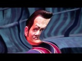 We Are Number One but vocals are 1 octave higher, sax is 1 octave lower and there are no drums