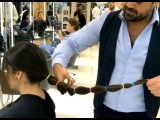 Extreme Long Hair Cutting - Part 2.