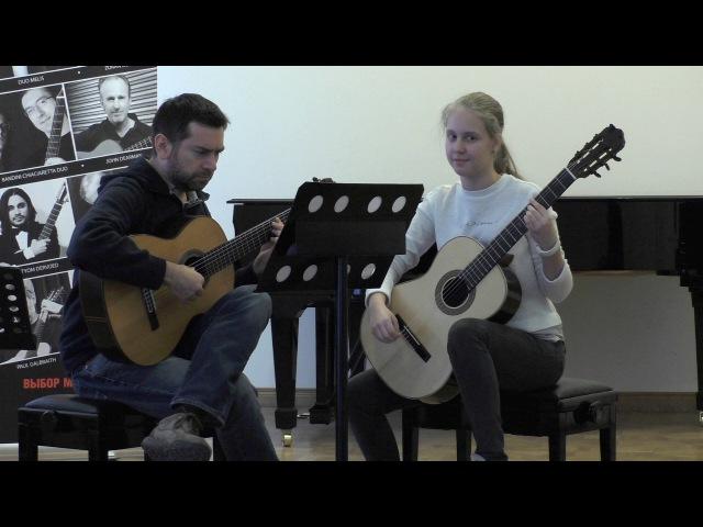 Jose Antonio Escobar: master class 2017, Moscow - Guitar Virtuosi festival [1/2]