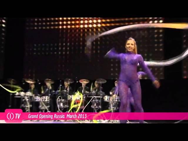 Шоу Magic of Drums на открытии компании World GN 17 марта 2013 г. Москва. Крокус Сити Холл