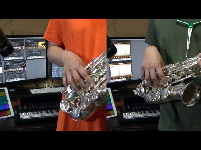 Macross Frontier Lion Alto Sax Cover con RealLPC RealStrat Amplitube BFD3 マクロスフロンティア ライオン