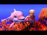 Barbie in A Mermaid Tale - Merliah &amp Zuma the Dolphin swim through the corals towards Oceana