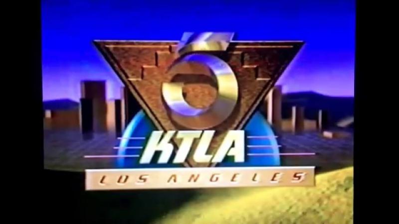 Начало эфира (KTLA-TV [г. Лос-Анджелес, США], июль 1994)