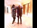 Танцы в Ленте с участием мопса