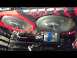 Corsair RM850x тест охлаждения.