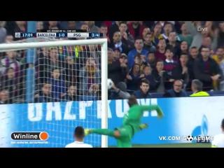 Барселона - ПСЖ 6:1. Обзор матча. Лига Чемпионов 2016/17. 1/8 финала. 2-й матч.