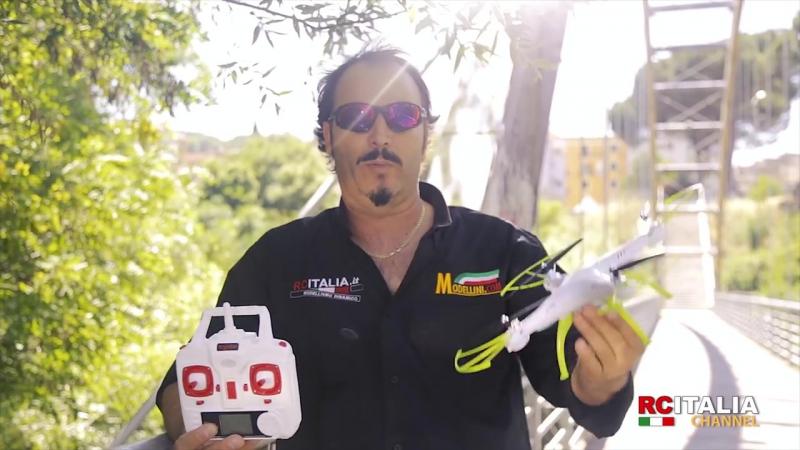 Радиоуправляемый Квадрокоптер с видеокамерой Syma X5HC (31 см, 2.4Ghz)