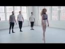 Кроссфит атлеты на занятии с профессиональной балериной